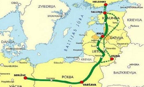 Страны прибалтики подписали договор отрассе rail baltica - «транспорт»
