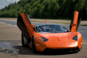 Супер-автомобиль marussia b2