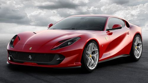 «Супербыстрый» ferrari 812 superfast