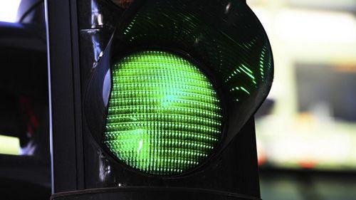 Светофоры от бульвара шевченко до улицы киквидзе переключили в режим «зелёной волны»