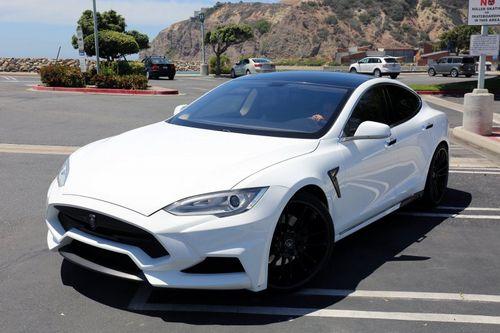 Tesla model s elizabeta от larte design