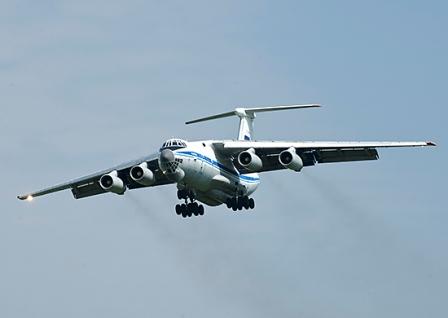 Учения вта: более 30 ил-76 перебазировались наоперативные аэродромы - «транспорт»