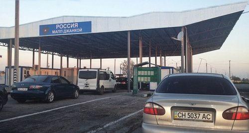 Украина не пропустит через границу автомобили с российскими крымскими номерами