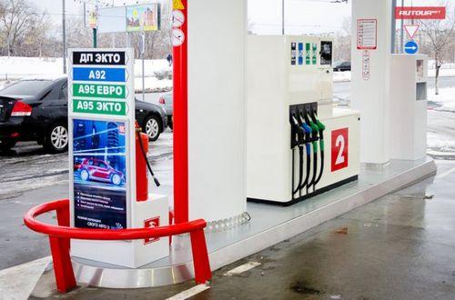 Украина почти возглавила бензиновый антирейтинг