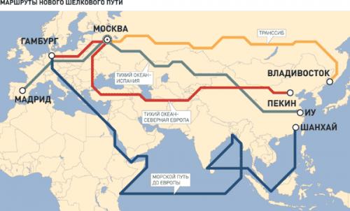 Украинский поезд «нового шелкового пути» без груза застрял вкитае - «транспорт»