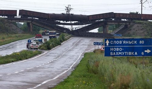 Укравтодор оценил разрушения автодорог в зоне ато