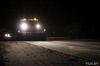 В беларуси было задействовано более 720 машин в расчистке дорог в минувшие сутки