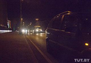 """В бресте к акции """"стоп-налог"""" присоединились около 10 машин и один пешеход"""