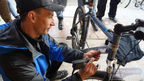 В бресте стартовал проект по профилактике краж велосипедов
