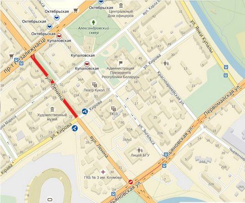 В день без автомобиля участок улицы ленина закроют для движения транспорта и сделают пешеходным