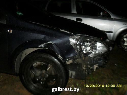 В малорите пьяный нарушитель гонял от гаи на скорости 160 км/ч