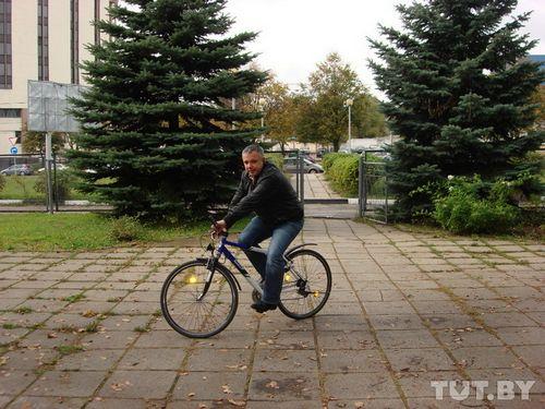 В минске 22 сентября гаи пересела на велосипеды