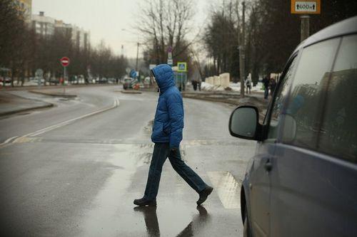 В минске пешеходов чаще всего сбивают около остановок и переходов