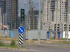 В минске появилась улица, где автомобилисты ездят по своим правилам
