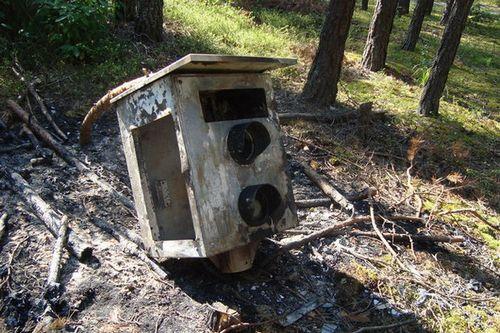 В могилеве и области сжигают и ломают камеры фотофиксации