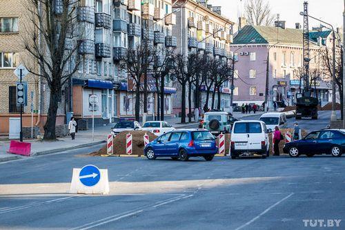 В могилеве улицу пионерскую планируют открыть для движения 1 мая