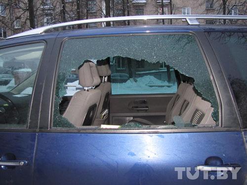В партизанском районе задержали банду автоворов