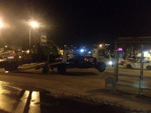 В петербурге за неправильную парковку эвакуатор эвакуировал эвакуатор