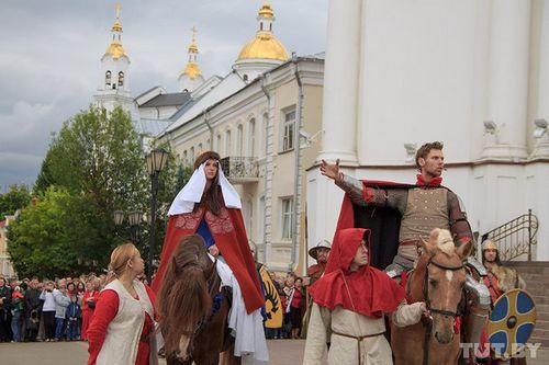 В витебске ограничат движение транспорта в связи с шествием в день города