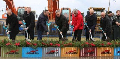 Вгрузии начали строить глубоководный порт анаклия - «транспорт»