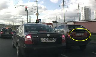 Видеодайджест нарушений от #перехвата: проехал на красный, не уступил дорогу и т.д.