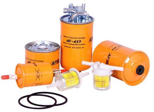 Виды топливных фильтров для дизельных двигателей и их функции
