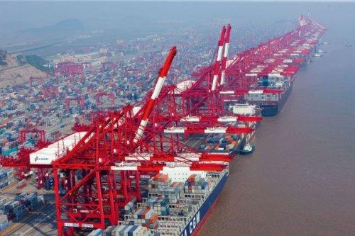 Вкитае открылся самый большой вмире глубоководный портовый терминал - «транспорт»