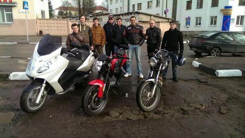 Владельцам изъятых в минске мотоциклов начинают их возвращать. но не всем и не все