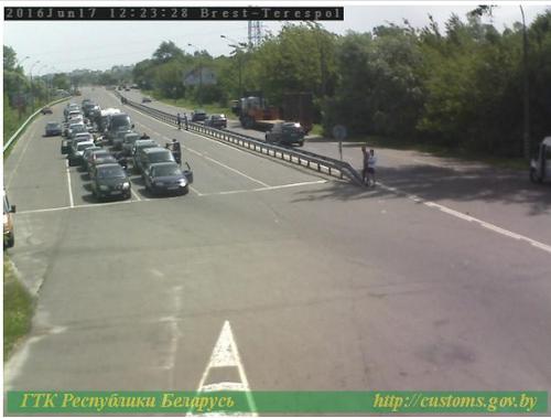 Водители жалуются на очереди на белорусской границе из-за забастовки польских таможенников
