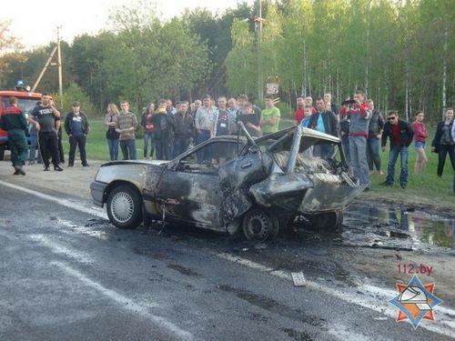 Водителю, по вине которого в гомеле заживо сгорел человек, дали 5 лет колонии общего режима