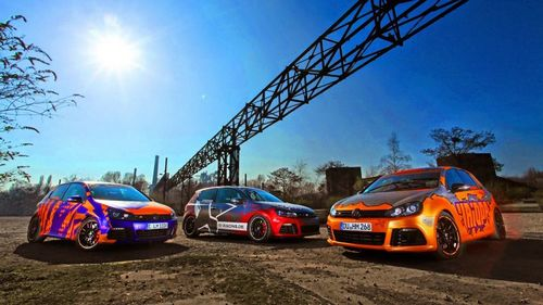 Volkswagen golf r haiopai racing в «обертке» cam shaft