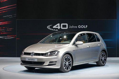 Volkswagen представил юбилейный golf edition