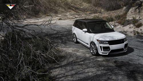 Vorsteiner представил range rover veritas