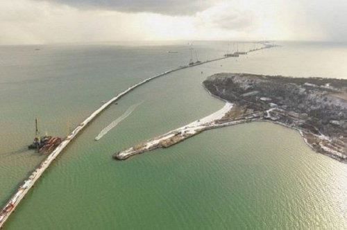 Вроссии ответили натребование киева построительству крымского моста - «транспорт»
