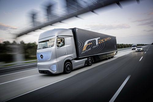 Встречаем грузовик будущего от mercedes, 2025 год [65 фото и видео]