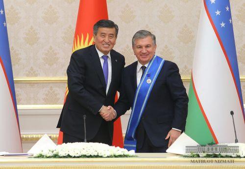 Вташкенте прошли переговоры президентов узбекистана икиргизии - «транспорт»