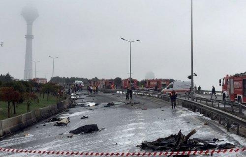 Втурции разбился вертолет счетырьмя россиянами наборту - «транспорт»