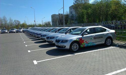 Закупка новых служебных skoda для гаи обошлась бюджету около 6 млн евро