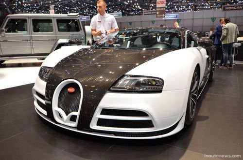Женева 2014: bugatti veyron vivere от mansory