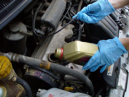 Зимнее масло для дизельного двигателя